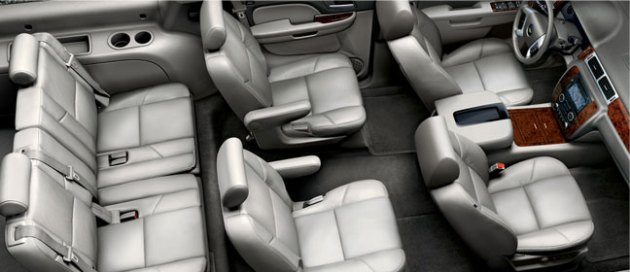 2012 chevy suburban interior